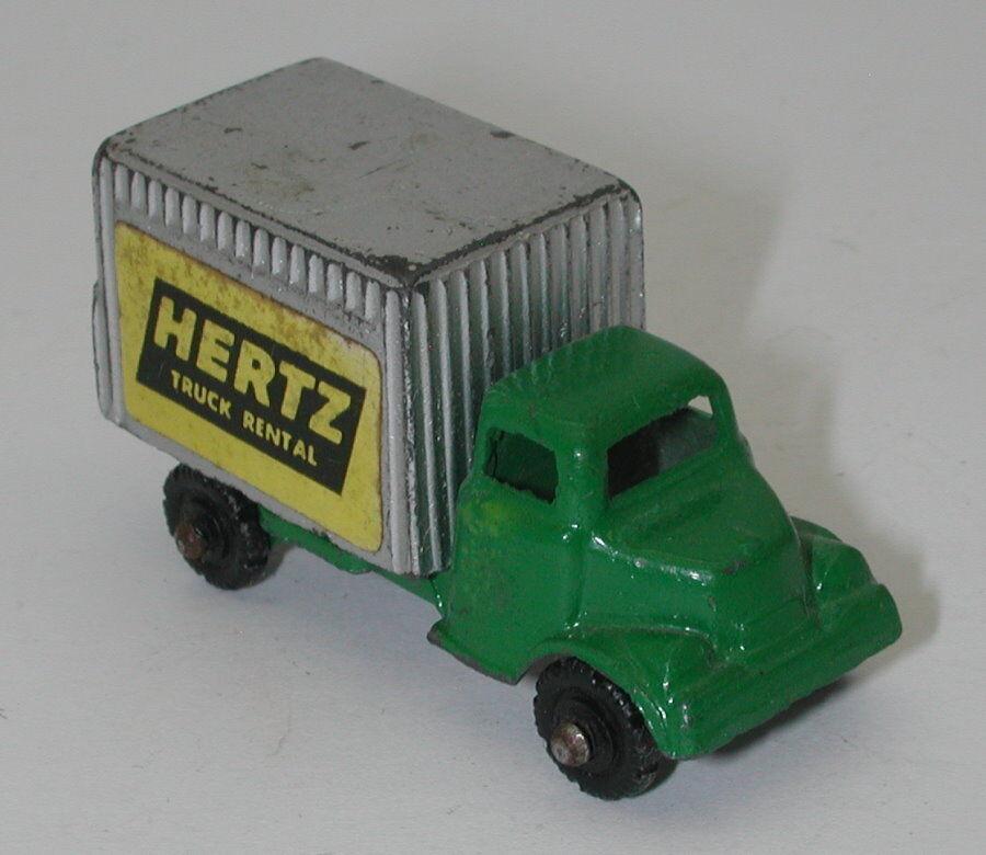 Vintage Vintage Vintage Die Cast Barclay Hertz Alquiler de Caja de camión bien Verde oc15092 fd0f2e