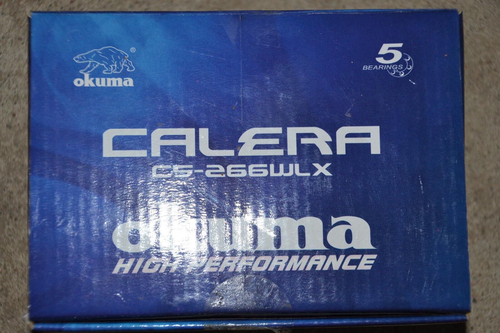 Okuma Calera Calera Okuma C5 266 Wlx Baitcaster Linksdrehung 900185