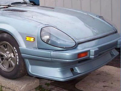 Fits 79 83 280zx S130 Xenon Urethane Front Air Dam W Brake Ducts Unpainted 3126 Ebay