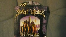 SEVEN WITCHES - CITY OF LOST SOULS. PROMO CD CARDSLEEVE
