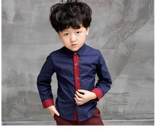 2pcs Handsome Boys Formal Suit Jackets Concert Suit Coat+Pants Kids Outfits Sets