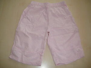 Topolino-tolle-kurze-Hose-Shorts-Gr-116-rosa-weiss-gestreift