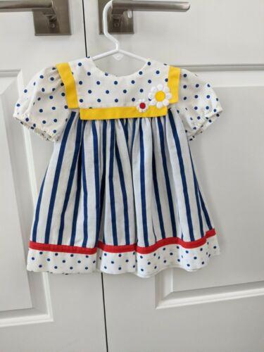 Vintage Toddler Girls Dress Size 2T