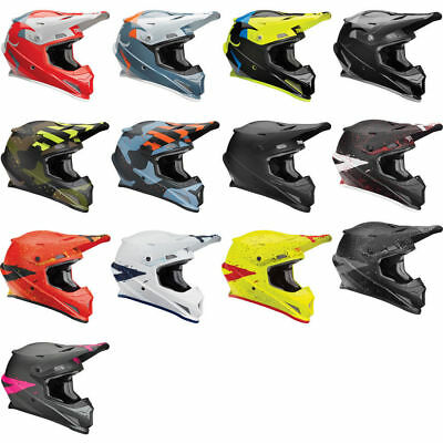 Choose Size Thor MX Motocross Sector Helmet SHEAR Gloss Black//Charcoal