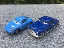 Disney Pixar Cars Sally & Doc Hudson 2pcs Set Spielzeugauto Neu Ohne Verpackung