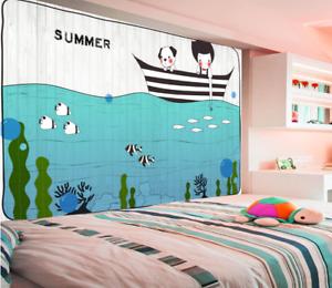 3D Junge Ozeanboot 588 Tapete Tapeten Mauer Foto Familie Tapete Wandgemälde DE