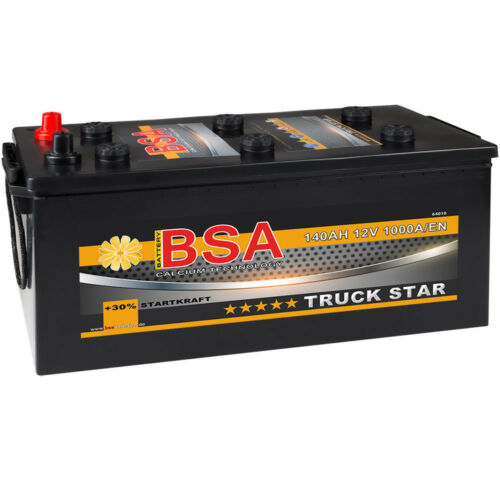 BSA LKW Batterie 12V 140AH Starter Schlepper Nutzfahrzeugbatterie BUESSING MAN