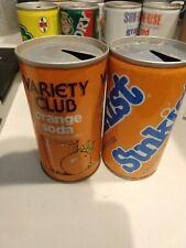 NOS Adult Size Vintage Late 1980/'s Sunkist Orange Soda Web Belt