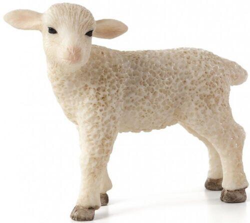 Mojo 387098 AGNELLO IN PIEDI cm 5,5 animali fattoria