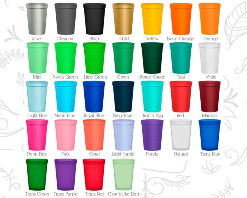 Stolen Personalized 40th Birthday Plastic Cups Custom Cup 20193 Cowboy