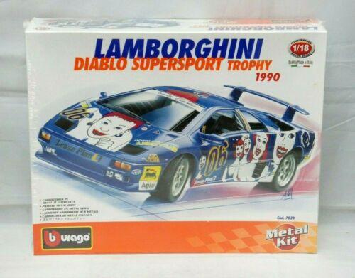1:18 BBURAGO Metal Kit Lamborghini Diablo supersport Trophy 7028..