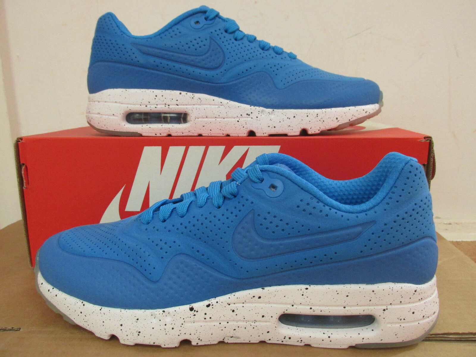 Nike Air Max 1 Ultra Moire homme Trainers 705297 411 Sneakers chaussures CLEARANCE
