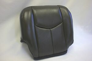 2003 to 2006 chevy silverado truck passenger vinyl bottom seat cover dark gray ebay. Black Bedroom Furniture Sets. Home Design Ideas