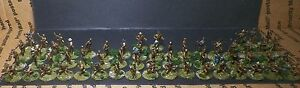 59 - 20mm 1/72 CONFEDERATE SOLDIERS CSA Hand Painted & based on pennies