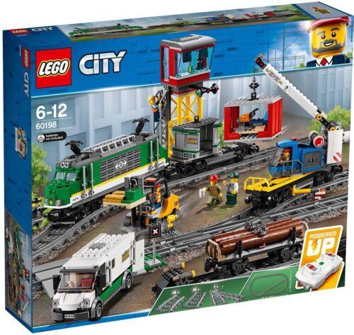 Güterzug Eisenbahn NEU OVP Lego City 60198