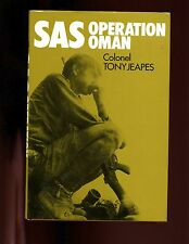 SAS OPERATION OMAN., Col. Tony Jeapes, 1st US   HBdj VG