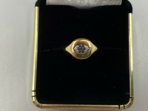 David Yurman Diamond And Sapphire Evil Eye