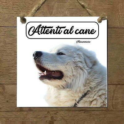 Cane pastore maremmano abruzzese mod 2 attenti al cane for Arredamento pastore