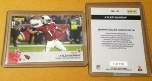 2019-Kyler-Murray-RC-Panini-Instant-21-Debut-Rookie-Rallies-Cards-for-Tie-176