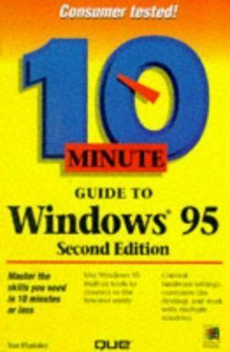 10 Minute Guide to Windows 95 by Sue Plumley (1997, Paperback)