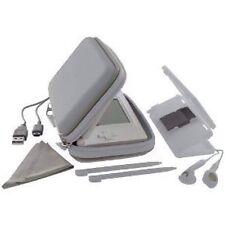 New Nintendo DS Lite Exspect Essentials Pack Carry Case Cover Earphones Silver