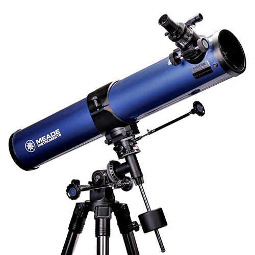"Meade Astronomical Telescope 114EQ-AR 4.5"" 114mm Equatorial Reflectiing Space"