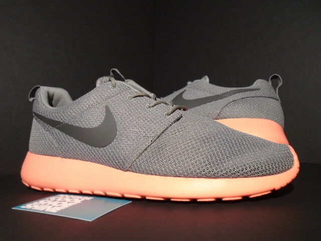 2018 Nike ROSHE RUN ROSHERUN SOFT Gris FOG CRIMSON Rose MANGO 511881-096 DS