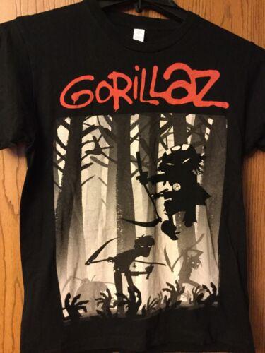 Gorillaz.  Black Shirt.  S.  Unbranded.