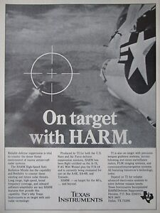 11/1982 Pub Texas Instruments Elecronics Harm Anti-radiation Missile A-7e Ad P0xmyrz3-08003516-153164125
