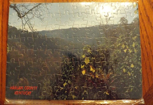 Custom Harlan County Kentucky Puzzle 80pc