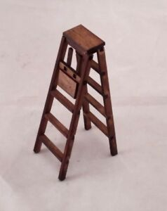 Image Is Loading Folding Step Ladder 5 034 221 Dollhouse Miniature