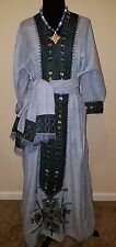 Ethiopian traditional dress from Wollo region 3 piece ...necklce not included