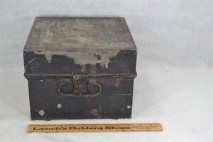 tin-box-document-safe-deed-storage-vault-cash-10-034-handle-antique-original-1890