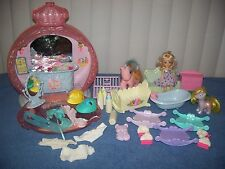 My Little Pony Poof N Puff Perfume Palace w/ Lullaby Accessories & Clone Ponies