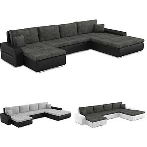 ecksofa toronto mit schlaffunktion best ecksofa eckcouch mit bettkasten ebay. Black Bedroom Furniture Sets. Home Design Ideas