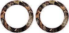 Oak Ambush Camo Rings Cornhole Board Hole Ring Stickers Baggo Vinyl Decal