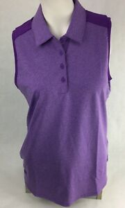 NWT-Womens-Adidas-Technical-Purple-Polo-Small-Vest-DP5800-MSRP-65