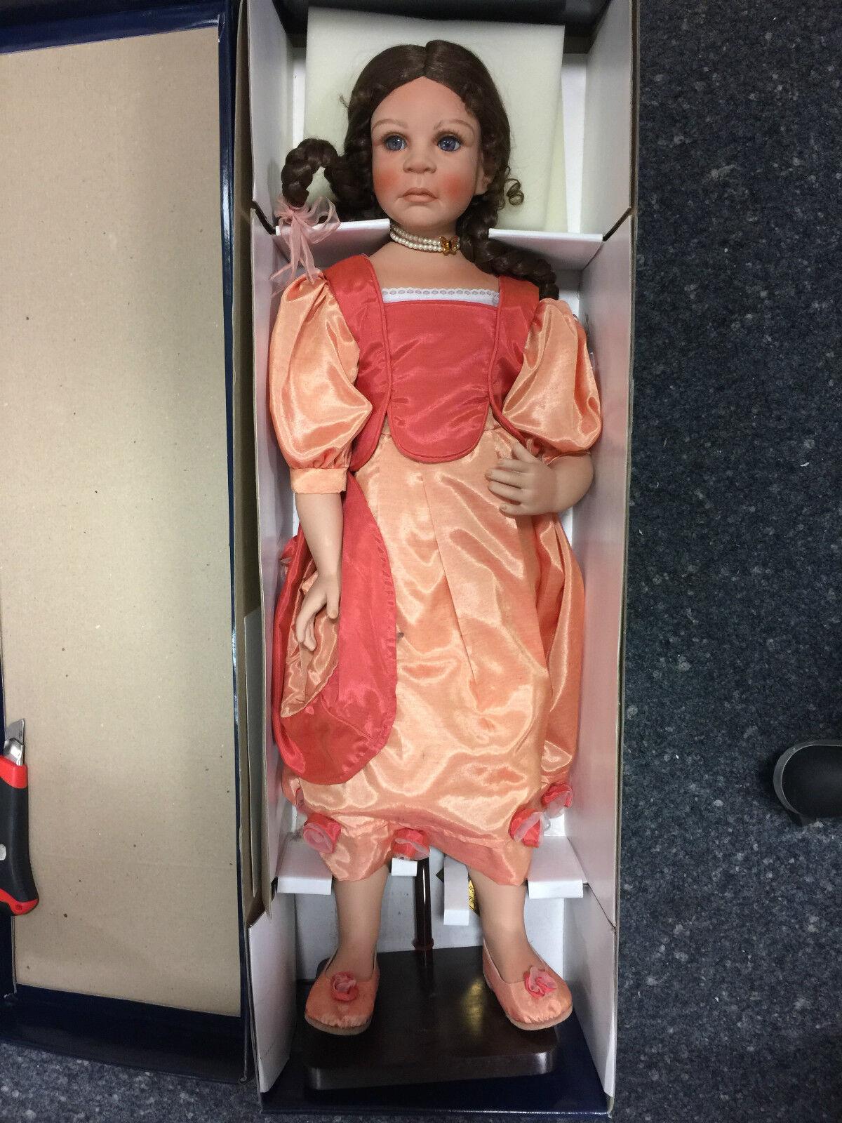 MONIKA LEVENIG bambola di porcellana Marissa 73 cm n. 2 EDIZIONE LIMITATA