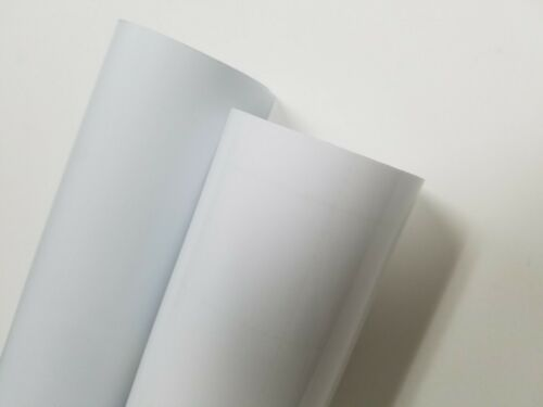 """CLEAR Transparent Frosted 24/"""" Intermediate Cutting Craft Sign Vinyl Film Roll"""