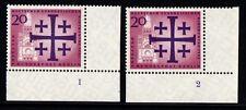 1961 Kirchentag Mi 215-16 ** komplett Formnummer 1 und 2G Luxus!