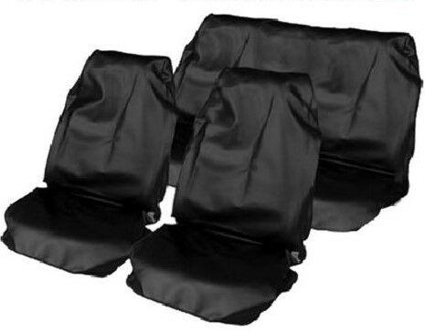 FORD MONDEO ESTATE 00-07 HEAVY DUTY BLACK FULL SET WATERPROOF SEAT COVERS