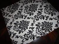 Hobby Lobby Runner Black & White Floral Medallion 100% Cotton 17 X 72