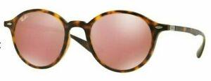 Ray-Ban-Damen-Herren-Sonnenbrille-RB4237-894-Z2-50mm-Liteforce-rund-S-D6-H