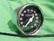 60-7222K VEGLIA typ speedo SPEEDOMETER für TRIUMPH T140 T160 KM/H+glühlampe+
