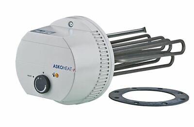 "6,0 KW 230V//400V AC Länge: 600 mm Elektoheizstab Einschraubheizkörper 1 1//2/"""