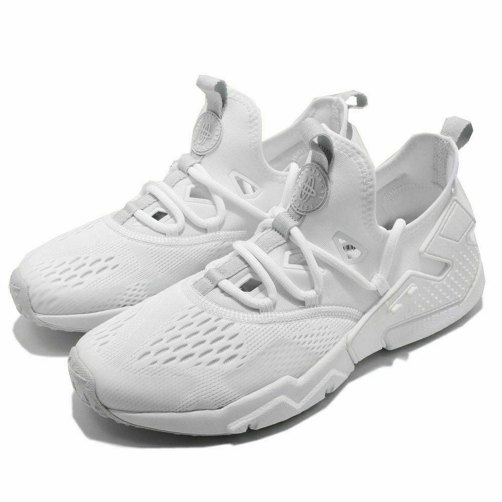 the best attitude 99dd4 fe4f4 Nike Air Huarache Drift BR White Pure Platinum AO1133-100 Men's Size 9