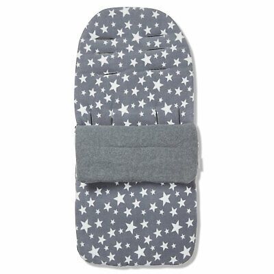 Blue Star Cosy Toes Compatible with Joie Pact Black Outer Fleece Footmuff