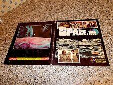 ALBUM figurine SPACE 1999 PANINI 1976 ORIGINALE COMPLETO BN/OTTIMO SERIE TV UFO