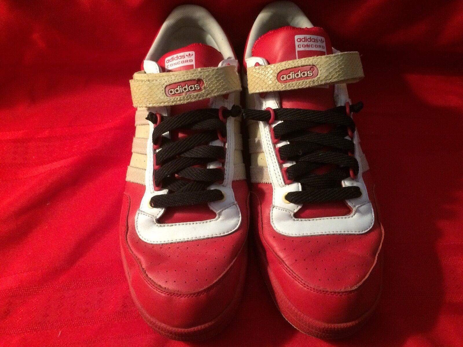 Dimensioni 14 rosse adidas 045871 concord cuoio 681001 arte 045871 adidas (raro) e60227