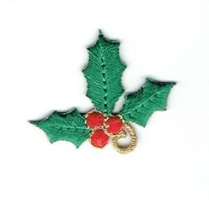Christmas ChristmasTree W//Candles Embroidered Iron On Applique Patch